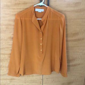 Stella McCarthy silk blouse